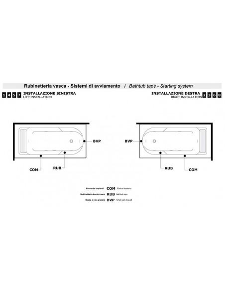 ALBA 170 tehnički crtež