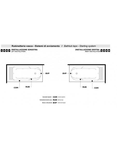 ALBA 180 tehnički crtež