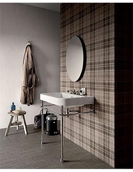 TAILORART zid Light 30x60 - Tartan Dark 60x60, pod Brown 60x60