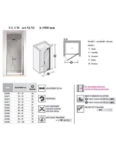 SLIM art SLNl    vrata
