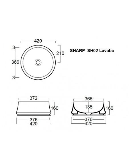 SHARP SH02 Lavabo