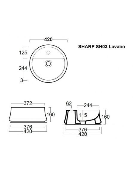 SHARP SH03 Lavabo