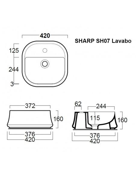 SHARP SH07 Lavabo