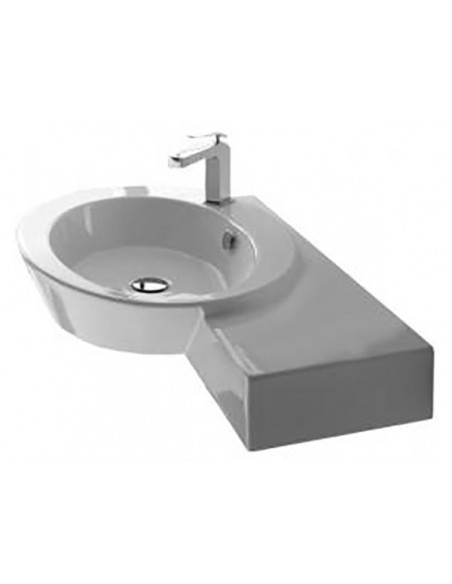 WISH art.2011 Lavabo DX 87x52x12h