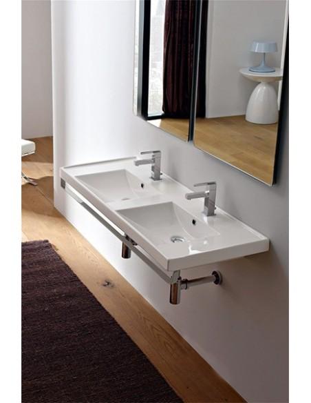 ML art.3003 Dupli lavabo dim 122x40x5h