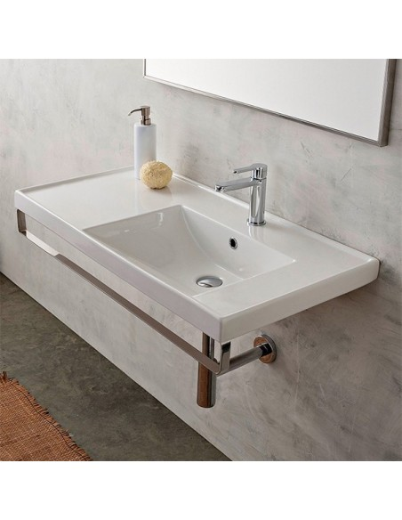 ML art.3009 SX Lavabo dim 92x47x5h
