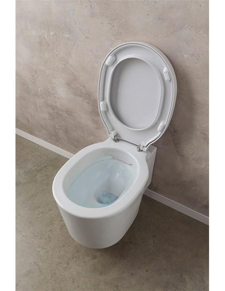 BUCKET art.8812/CL WC Šolja konzolna CLEAN FLASH dim.53,5x36