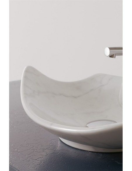 SCARABEO DECORATION cod F Marble White