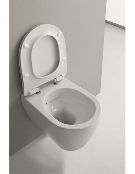 MOON art.5520/CL WC Šolja konzolna CLEAN FLUSH dim 50,5x36