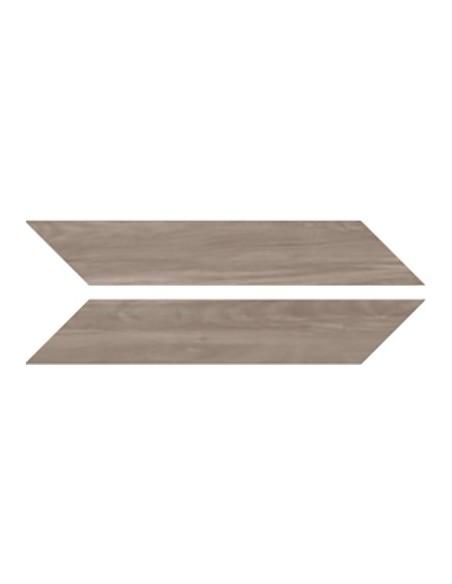 SHADEWOOD Chevron Wood Taupe 9.4x49