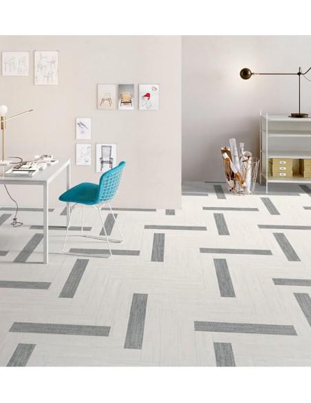 Digitalart White 10x60, Grey 10x60 - Sant`Agostino