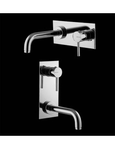 TREND2 art T20510 Slavina za lavabo iz zida - Italmix