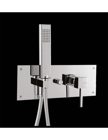 QUADRUS art QS0550 Ugradni mixer sa tušem i diverterom - Italmix