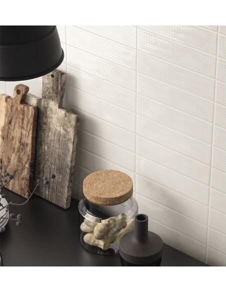 SLASH SLSH 73W White 7.5x30, SLSH1 73W 7.5x30 Imola Ceramica