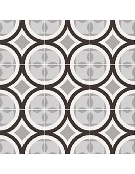 PATCHWORK BLACK&WHITE 01 20x20 -Sant'Agostino