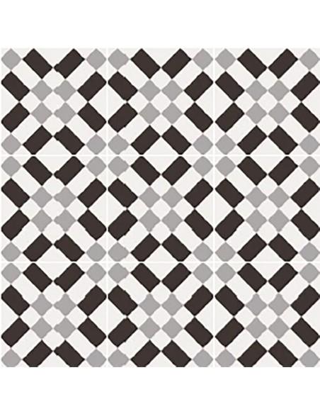 PATCHWORK BLACK&WHITE 02 20x20 -Sant'Agostino