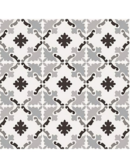 PATCHWORK BLACK&WHITE 03 20x20 -Sant'Agostino