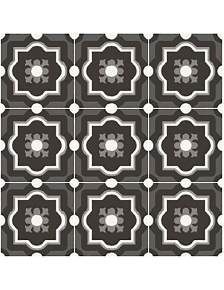 PATCHWORK BLACK&WHITE 04 20x20 -Sant'Agostino