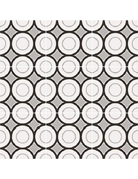 PATCHWORK BLACK&WHITE 05 20x20 -Sant'Agostino