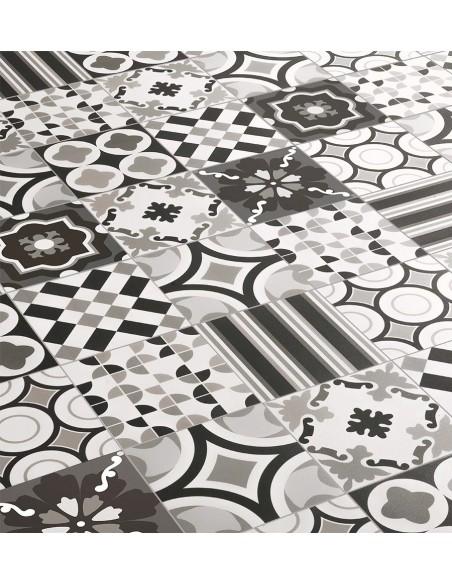 PATCHWORK BLACK&WHITE Mix 20x20 -Sant'Agostino