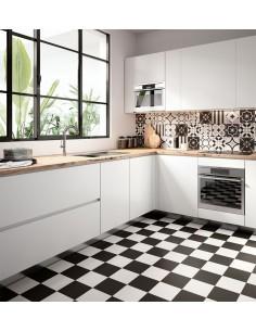 PATCHWORK BLACK&WHITE -Sant'Agostino