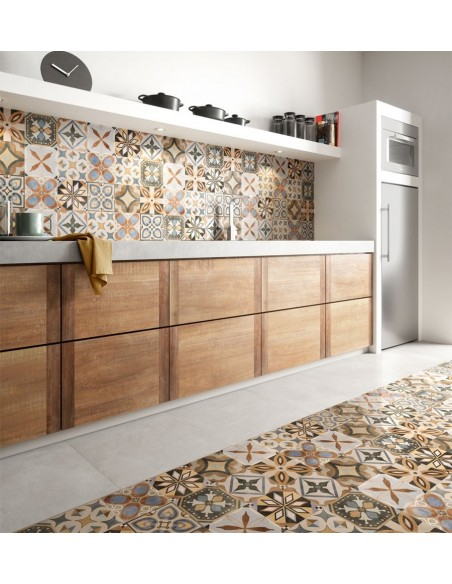 PATCHWORK COLORS Mix 20x20, Concrete Pearl 60x60 -Sant'Agostino