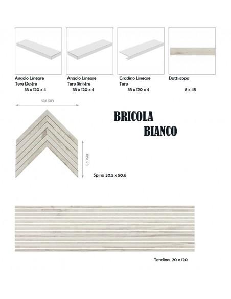 BRICOLA BIANCO - Rondine