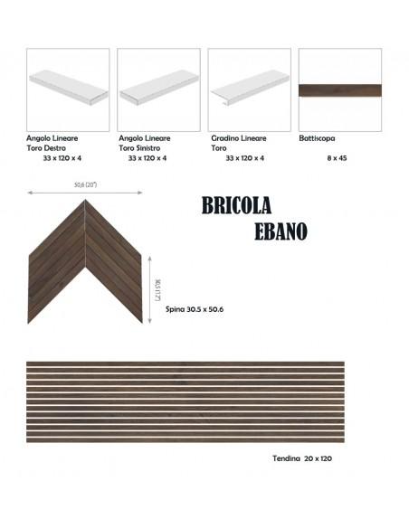 BRICOLA EBANO - Rondine