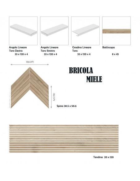 BRICOLA MIELE - Rondine