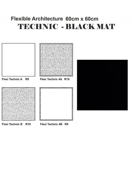 FLEXIBLE ARCHITECTURE TECHNIC BLACK - Sant`Agostino