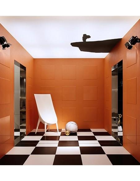 FLEXIBLE ARCHITECTURE Technic pod WHITE A - BLACK A  zid - Orange Mat Flexi 2 i Flexi BSant`Agostino