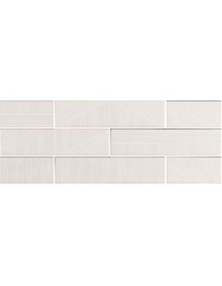 STRIPEBRICK WHITE dim 7,3x30 cm - Sant`Agostino