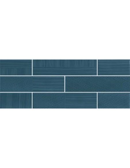 STRIPEBRICK BLUE dim 7,3x30 cm - Sant`Agostino