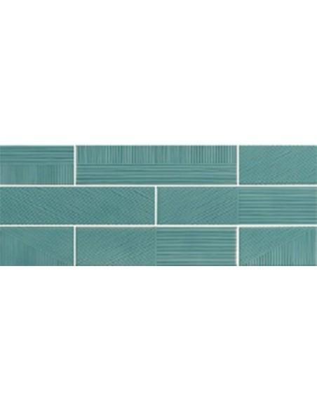 STRIPEBRICK EMERALD dim 7,3x30 cm - Sant`Agostino