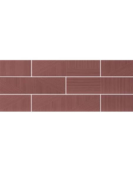 STRIPEBRICK MAUVE dim 7,3x30 cm - Sant`Agostino