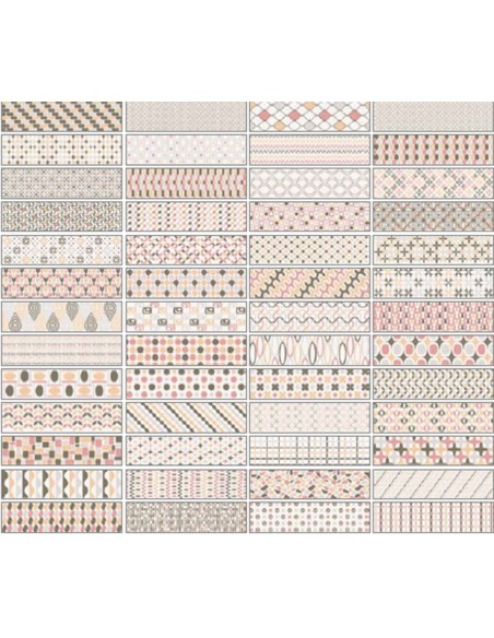PATTERNBRICK MULTI WARM dim 7,3x30 cm - Sant`Agostino
