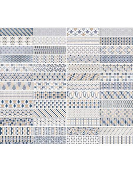 PATTERNBRICK MULTI COLD dim 7,3x30 cm - Sant`Agostino