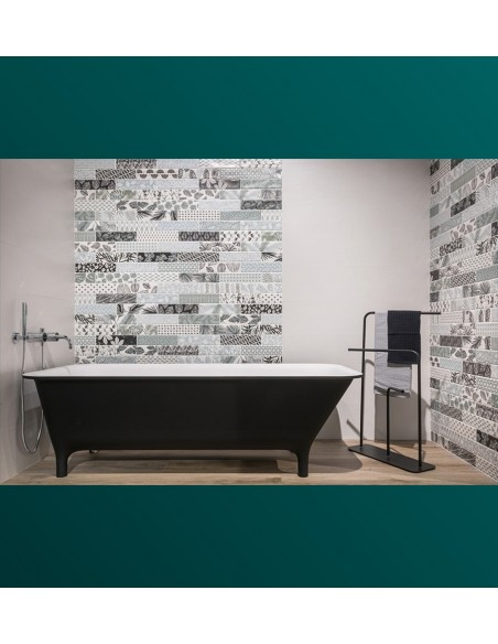 DECORLINE Decorwall White, Plantbrick - Sant`Agostino