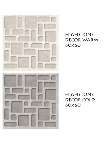 HIGHSTONE DECOR WARM i COLD 60x60 - Sant`Agostino