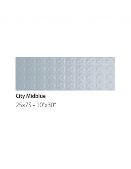 NEWDOT CITY MIDBLUE 25x75 - Sant`Agostino
