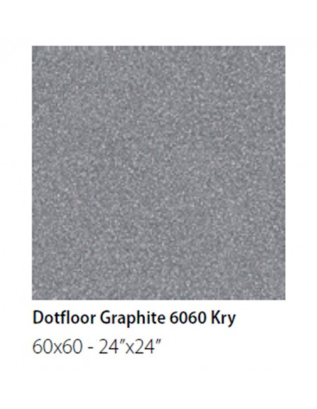 NEWDOT DOTFLOOR GRAPHITE KRY 60x60  - Sant`Agostino
