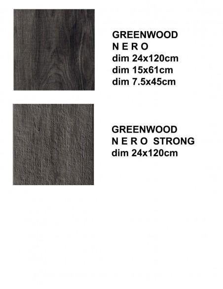 GREENWOOD NERO -Rondine