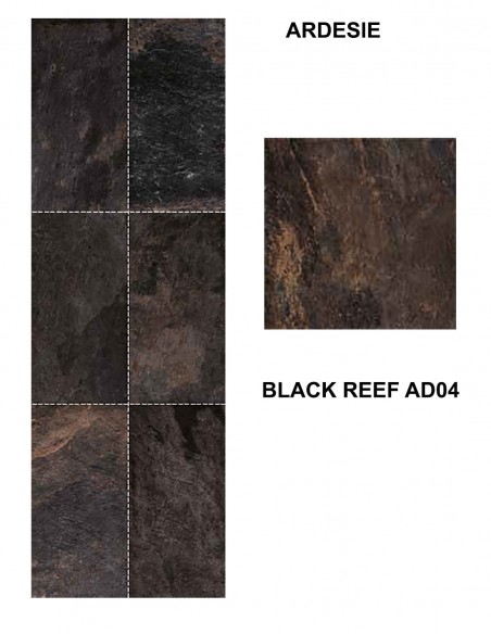 ARDESIE AD04 BLACK REEF - Mirage