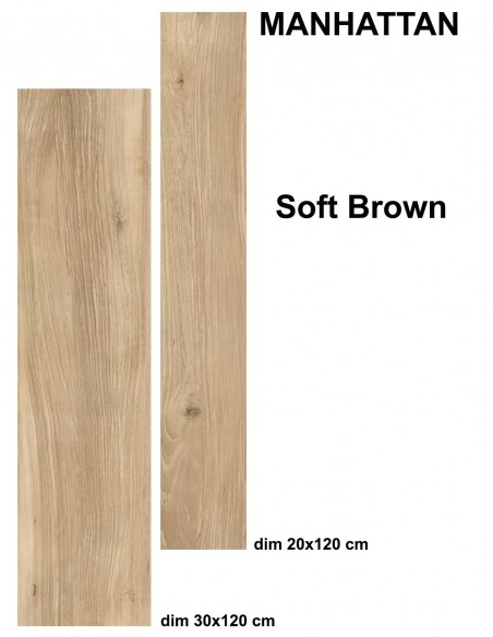 MANHATTAN indoor SOFT BROWN - Idea Ceramica