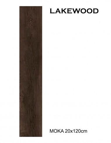 LAKEWOOD Moka 20x120cm - Sant`Agostino