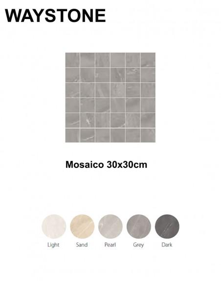 WAYSTONE Mosaico 30x30cm - Sant`Agostino