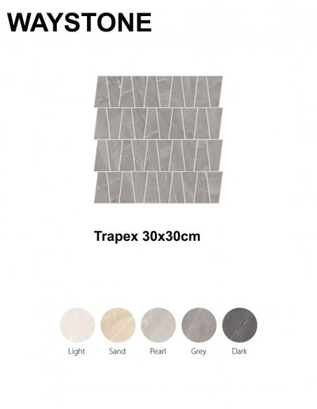 WAYSTONE Trapex 30x30cm - Sant`Agostino