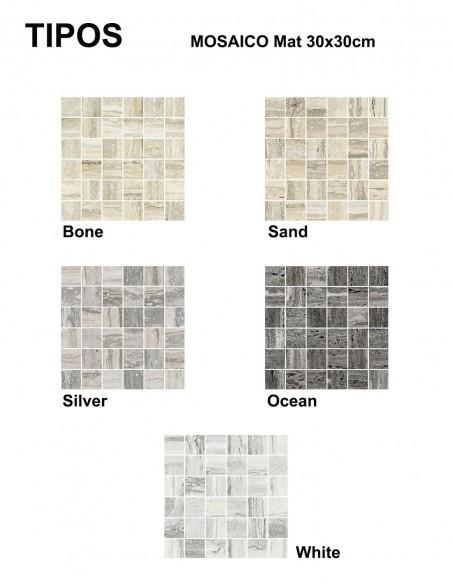 TIPOS Mosaico 30x30cm - Sant`Agostino