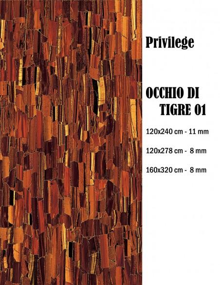 Bottega 225 PRIVILEGE PE OCCHIO DI TIGRE 01 - Mirage