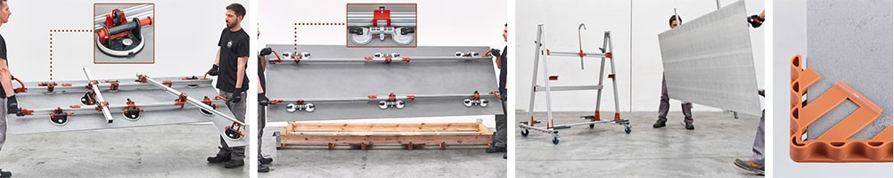 RAIMONDI Alat za rukovanje i instaliranje velikih pločica